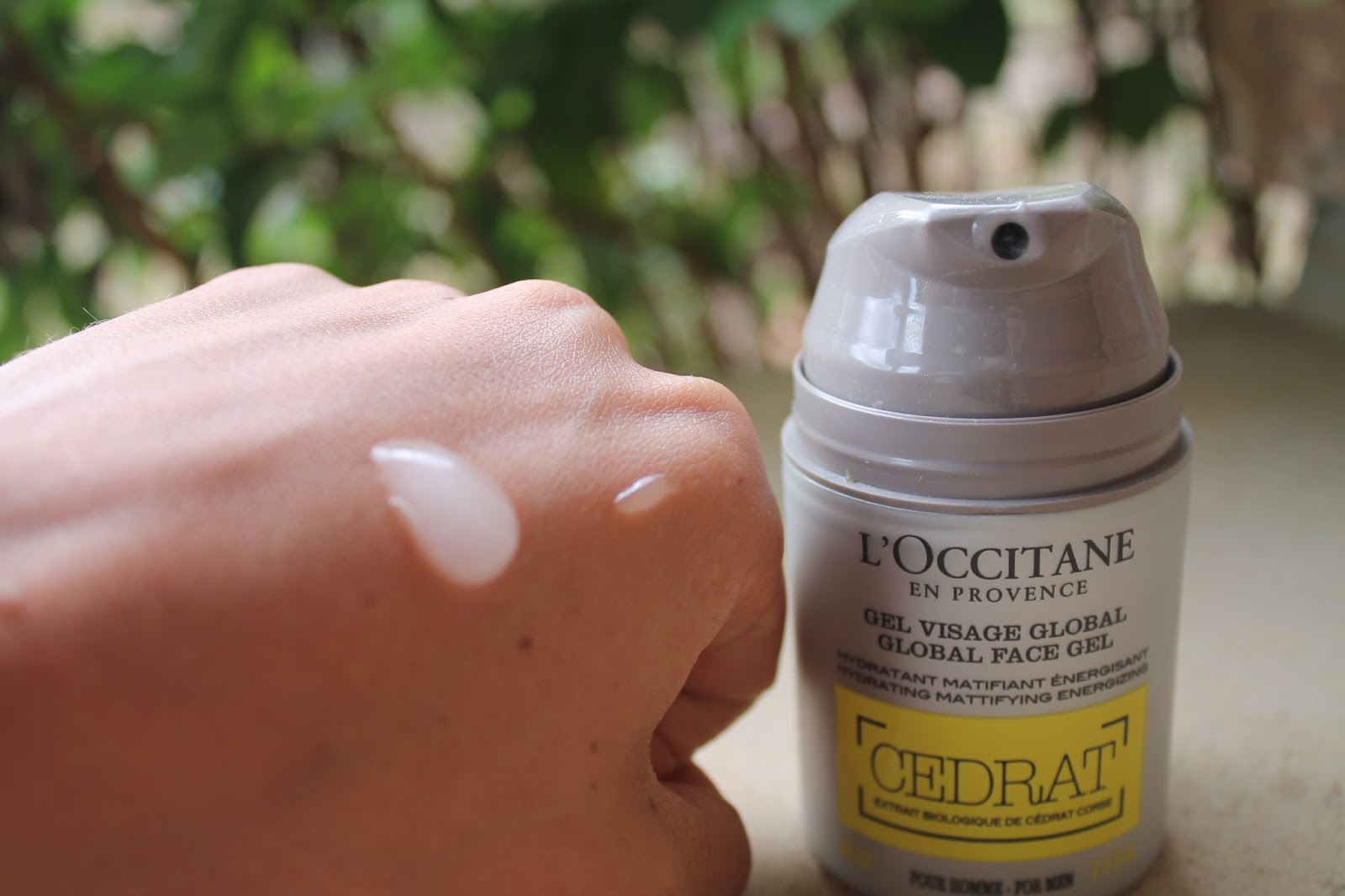 L'OCCITANE CEDRAT GLOBAL FACE GEL