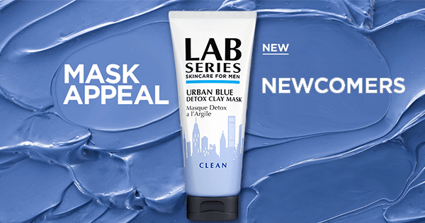 LAB SERIES URBAN BLUE DETOX CLAY MASK