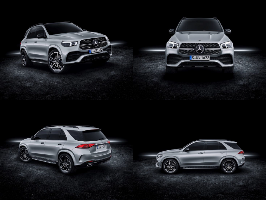All new Mercedes Benz GLE Coupe 2020